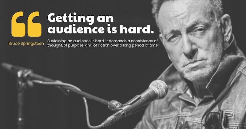 Retaining an Audience